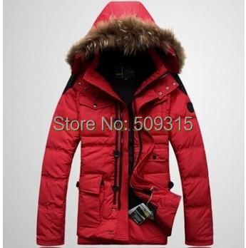 2015 Men's down coat outerwear male design thickening down jacket Men winter duck parka jackets men's winter overcoat outwear