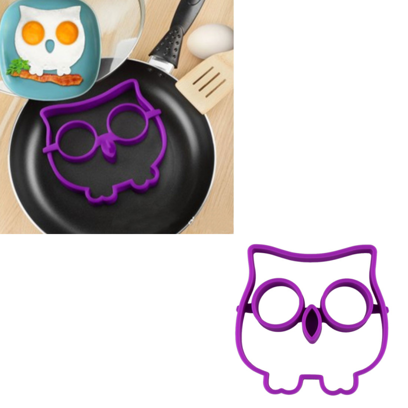 New Egg Owl Shaper Silicone Moulds Cooking Tools Christmas Supplies Free Shipping Best Deal1pcs(China (Mainland))