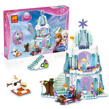 Cinderella Castle Carriage Princess Series Rapunzel Tower Building Brick Block Minifigure Girl Toy Friends Compatible With Le-go(China (Mainland))