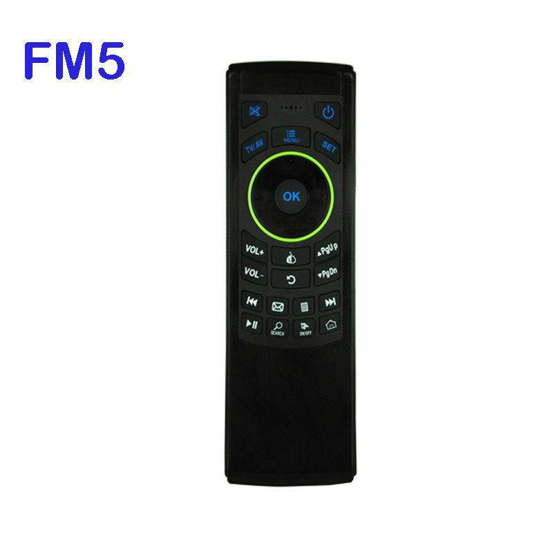 FM5 2.4GHz Remote Control Keyboard Wireless Air Mouse suit mart TV, set-top box, Andrews player, Internet TV,Andrews projector(China (Mainland))