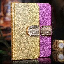 Buy Flip Kickstand Case Cover Samsung Galaxy J1 2015 Original Glitter Phone Cases Fundas J100 J100F J100H SM-J100F Coque Covers for $3.83 in AliExpress store