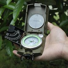 Buy Professional Compass Military Army Geology Compass Sighting Luminous Compass Outdoor Hiking Camping for $11.75 in AliExpress store