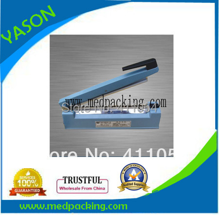 Simple automatic plastic cup sealer machine + Aluminium Bag Sealer machine with sealing length 300mm 0817025H(China (Mainland))