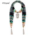 Bohemian Floral Pendant Scarves Women Long Wide Winter Scarves For Women Pattern Ethnic ScarvesSC150365 1