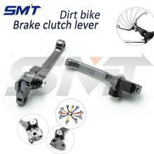 Suzuki DRZ 400 S/SM 00 01 02 03 04 05 06 07 08 09 10 11 Motorcycle Accessories CNC Pivot Brake Clutch Levers Titanium Color - SMT MOTOR store