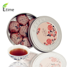 puer tea Hot Selling Top Quality Mini Box Compressed Tea Healthy Chinese Authentic puer Rose Fragrance 1box=7pieces tea BKTH005