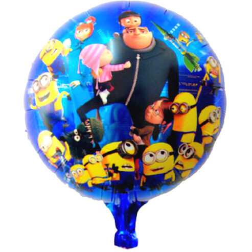 50pcs set 18inch cartoon minion balloon despicable me. Black Bedroom Furniture Sets. Home Design Ideas