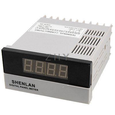 3 1/2 LED Digit Display Frequency Measurement Panle Meter +/-1999<br><br>Aliexpress