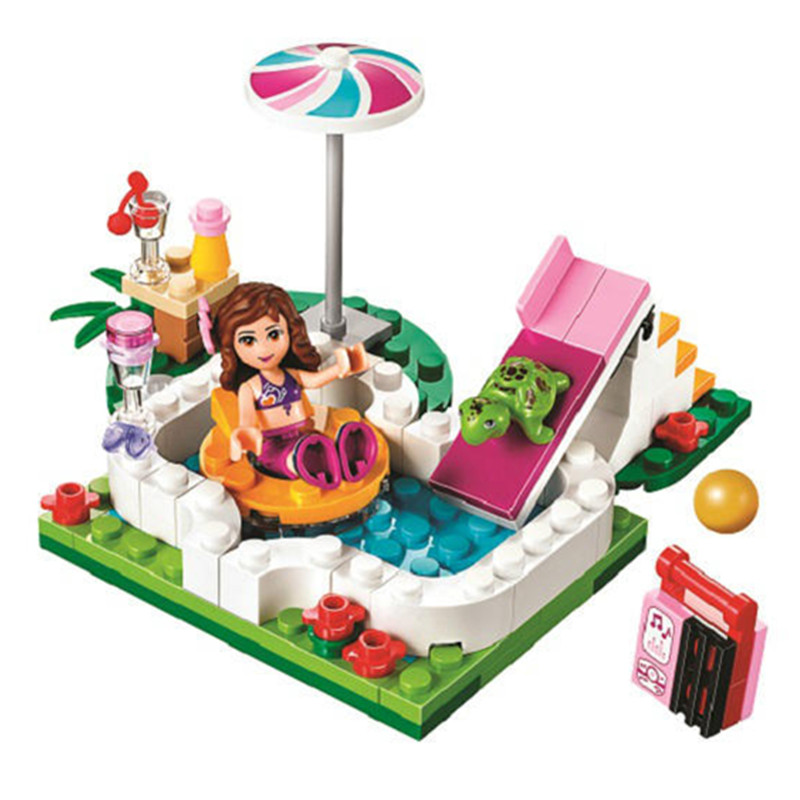 Popular lego education buy cheap lego education lots from for Lego friends olivia s garden pool 41090