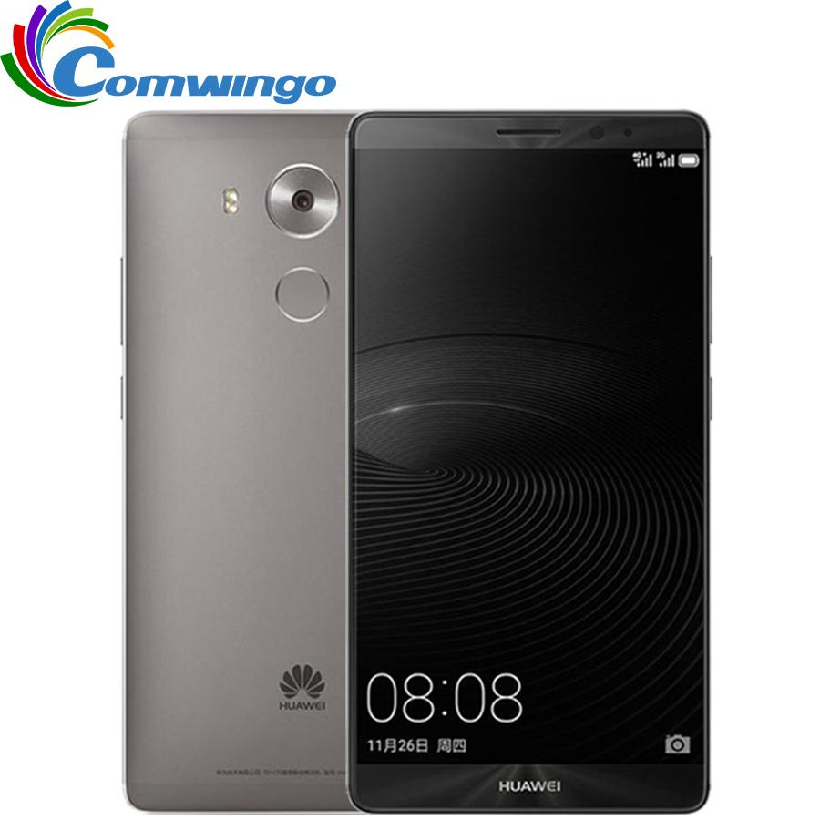 New Origanal Huawei Mate 8 NFC Fingerprint 6 inch 16MP Camera Mobile Phone 3GB RAM 32GB ROM 1920X1080 Octa Core 4G LTE Dual SIM(China (Mainland))