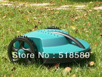 The Cheapest Robot Garden Lawn Mower+Remote Controller+Lead-acid Battery+Auto Reacharged +Free Shipping<br><br>Aliexpress