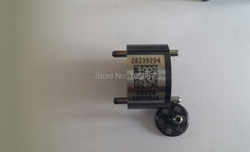 Free shipping black for delphi fuel injector control valves 9308-621C 9308z621C 28239294 28440421 common rail control valve(China (Mainland))