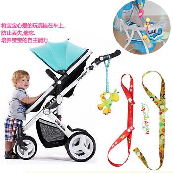 5 шт./лот новый прибытия горячее 100% хлопок новое детские коляски игрушки анти-потерянный ремень детские коляски веревки аксессуары бесплатн...