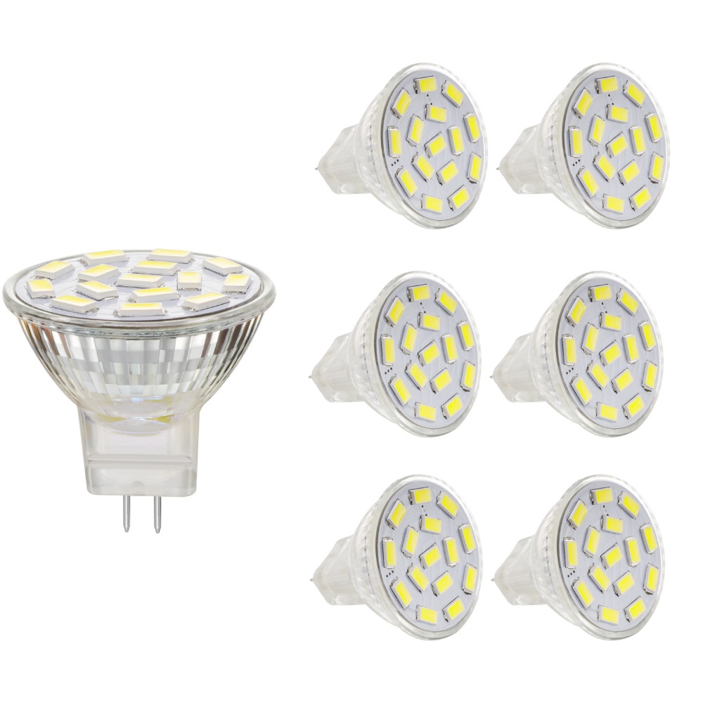 1pcs High Quality 7W MR11 GU4 AC/DC12V LED Bulb Lamp 5730SMD Warm White & White For Ceiling Lights/Window Display/Studio Light(China (Mainland))