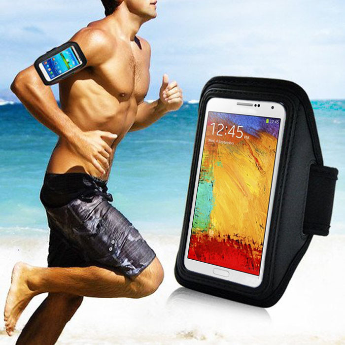 2016 New Arrival Sport Gym Running Arm Band Armband Case For Samsung Galaxy Note 3 2 N9000 N7100 Freeshipping&Wholesale