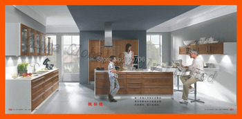 Custom modern high glossy kitchen cabinet lacquer kitchen cabinet