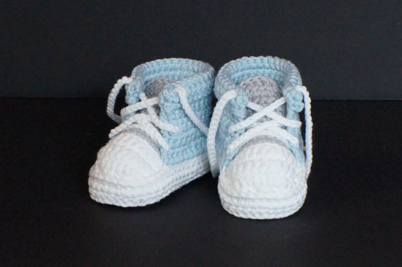 Baby Boys First Walkers Handmade Crochet Sports Tennis shoes Infant Toddler Knitted Sneakers Newborn Crib Booties Baby boy Shoes(China (Mainland))