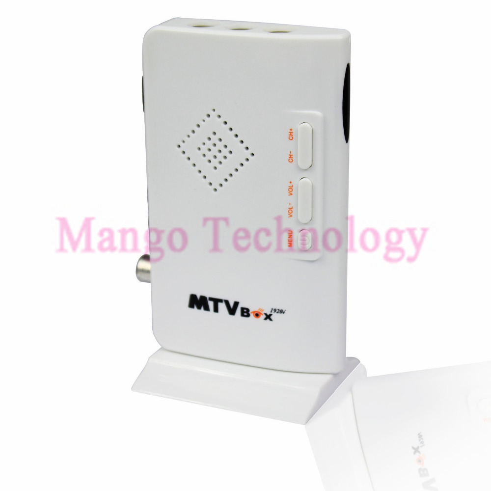 2016 TV Tuner MTV Box External HD LCD CRT VGA External PC BOX Receiver Tuner HD 1080PTV Box AV To VGA With Remote Control(China (Mainland))