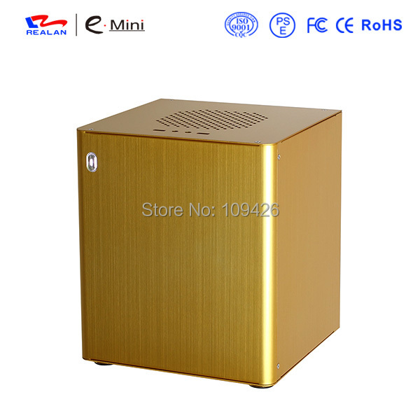 Realan D3 HTPC Computer Cases And Towers, Aluminum 1.5mm, Mini ITX Motherboard, PCI Expansion Slots(China (Mainland))