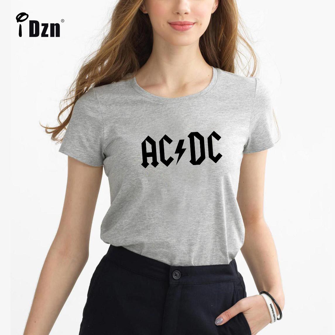 2017 Summer Casual Women T-shirts Fall Out Boy ACDC Arctic Monkeys Pierce The Veil Rock Band Girl Short Sleeve Print Tees Tops(China (Mainland))