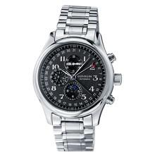 GUANQIN Relogio Masculino automatique mécanique hommes montres étanche calendrier lune cuir montre-bracelet otomatik erkek saat(China)