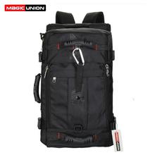 MAGIC UNION Men's Travel Bags Fashion Men Backpacks Men's Multi-purpose Travel Backpack Multifunction Shoulder Bag(China (Mainland))