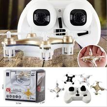 Big Promotion Sales RC Helicopter Cheerson CX-10A RC Quadcopter 4CH 2.4GHz Headless Drone Mode vs CX-10 CX10 - white Color(China (Mainland))
