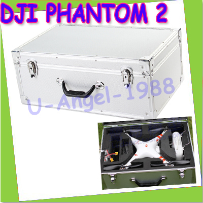 Free Shipping 2014 Newest DJI Phantom 2 Vision Professional Aluminum Case For