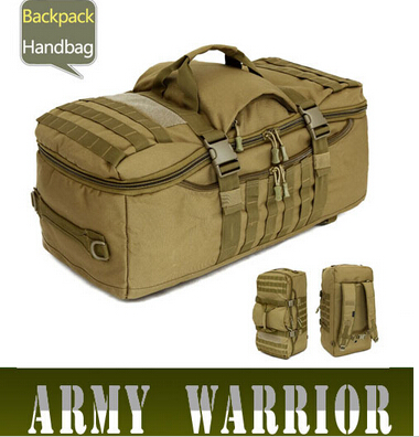60L CampingBags Waterproof Molle Backpack Military 3P Tad Tactical Assault Travel Luggage Bag Men Knapsack Cordura
