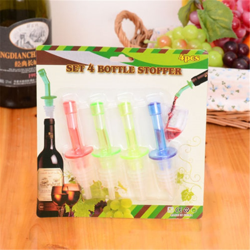 Bottle Pourer Pour Spout Stopper Dispenser