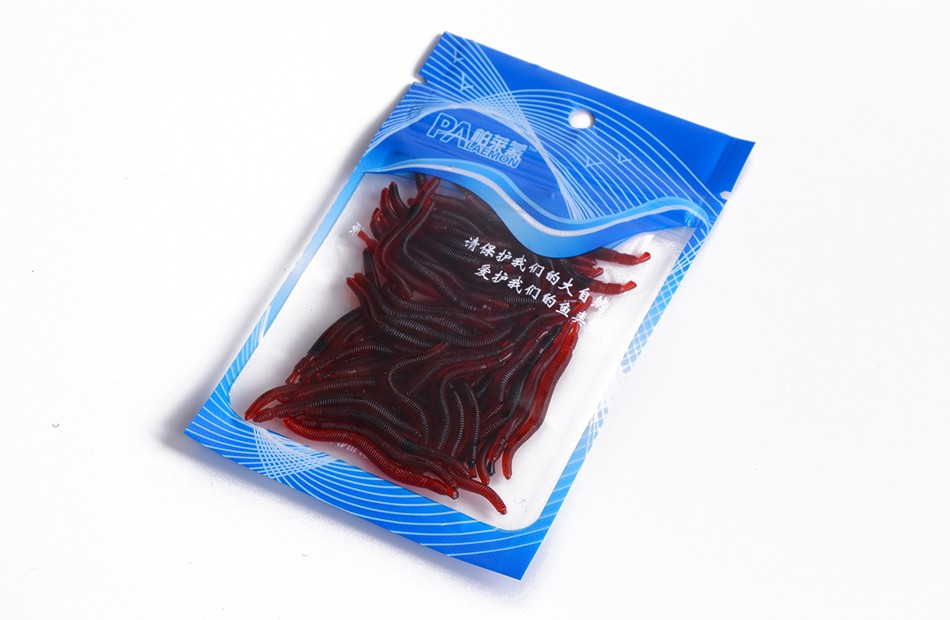Soft Fishing Lure Earthworm Fishing Lures Blood Worms Fishing Tackle Soft Baits pesca peche soft lure