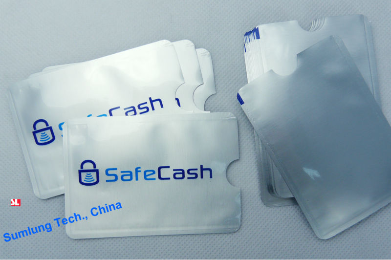 10pcs Anti Scan RFID Blocking Sleeve for Credit Card Secure your Identity ATM Debit Contactless IC Card Protector Holder Blocker(China (Mainland))