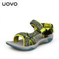 UOVO New 2016 Superior Boys Sandals Nonslip Children Shoes Sandals Boys Shoes Kids Sandals Boys Beach