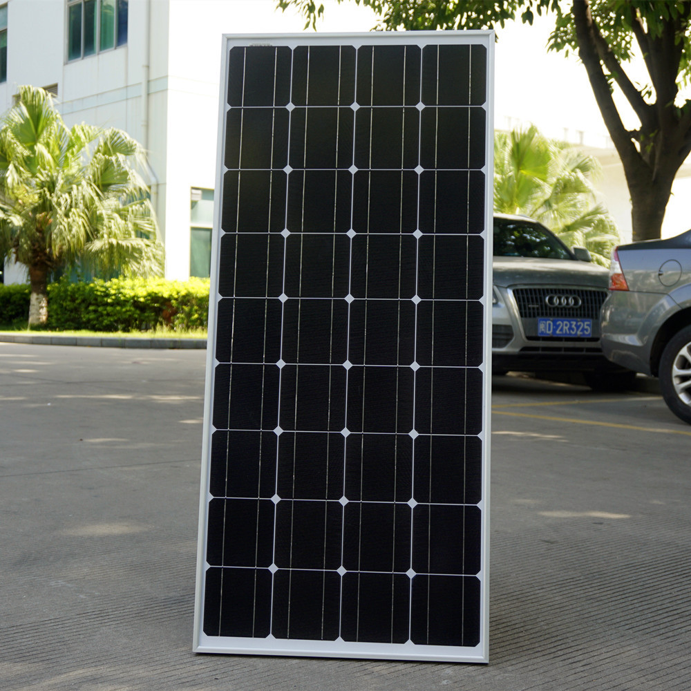 New USA Stock 100W mono Photovoltaic PV Solar Panel off Grid for 12V Battery RV Boat camping&Free Shipping(China (Mainland))