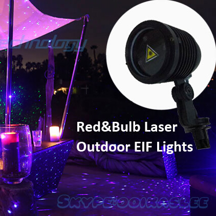 IP65 Waterproof Christmas Laser projector moving fire+fly outdoor laser light projector twinkling effect holiday Garden lights(China (Mainland))