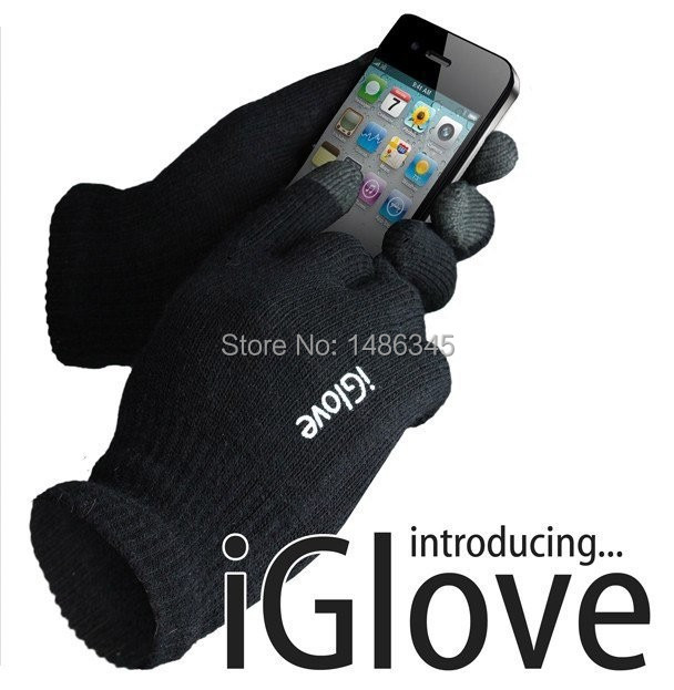Winter Knitted Phone Touch Screen Gloves outdoor wrist fitness hand gloves for women men Mittens 22cm