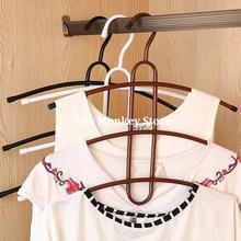 Iron Art 3 Layers Fishbone Hangers Creative Magic Stoving Varnish Drying Rack Clothes Hanger F1765(China (Mainland))