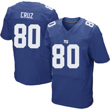 Men's #80 Victor Cruz Elite Royal Blue Team Color Football Jersey 100% Stitched(China (Mainland))