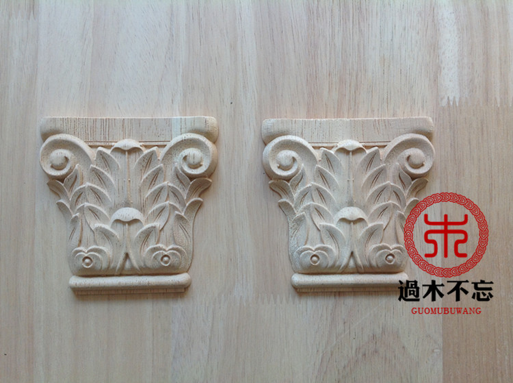 Wood dongyang wood carving fashion solid wood corbel column entranceway cattle applique roman column fireplace column(China (Mainland))