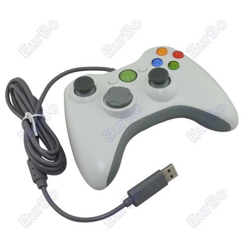 eurbo 100шт много проводной игровой контроллер usb джойстик pc360 Геймпад для ПК не для xbox 360