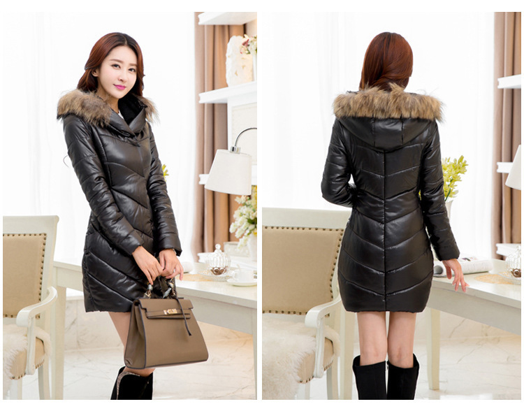 plus size women s winter coat genuine paragraph cotton jacket and long sections windbreaker jacket
