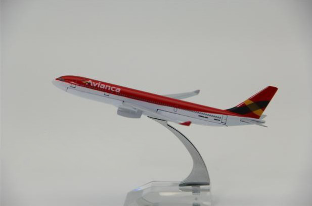 1:400 plane model A330 Columbia Airlines aircraft A330 Metal simulation airplane model for kid toys Christmas gift(China (Mainland))