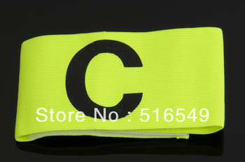 best quality football soccer captain armband captain scale good elastic tension  free shipping