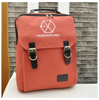 New exo couple canvas shoulder bag handbag shoulder bag diagonal shoulder bag three Academy manufacturers supply(China (Mainland))