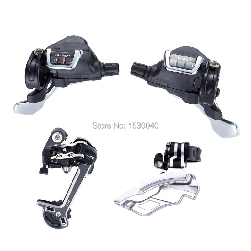Фотография TS82-9 Trip Conjoined DIP Set Derailleur 27 Speed MTB Front Rear Derailleur Groupset microSHIFT Compatible for Shimano