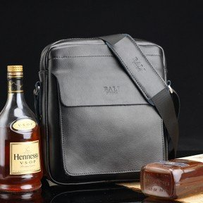 2015 new arrival factory direct cow leather message bags genuine leather shoulder bag/man bag WLHB356(China (Mainland))