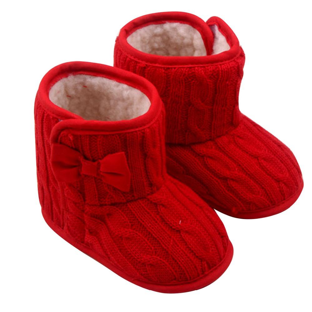 Nova Doce Do Bebê Recém-nascido Meninas Prewalker Calçados Infantil Criança Princesa Botas Botas de Inverno Super Quente 3 Cor YY0331(China (Mainland))