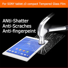 "Buy 2015 QCC Ultra-thin Premium tempered glass film Sony Xperia Z3 compact tablet 8.0"" Anti-shatter LCD HD Screen Protector Film for $6.64 in AliExpress store"