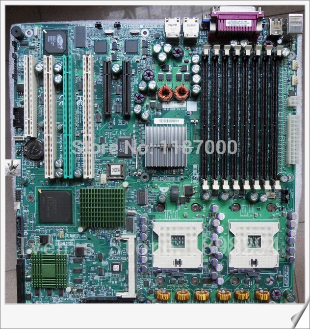Dven- Original X6DH8- for Supermicro Intel E7520 Socket 604 System Board Well Tested 90 Days Warranty(China (Mainland))