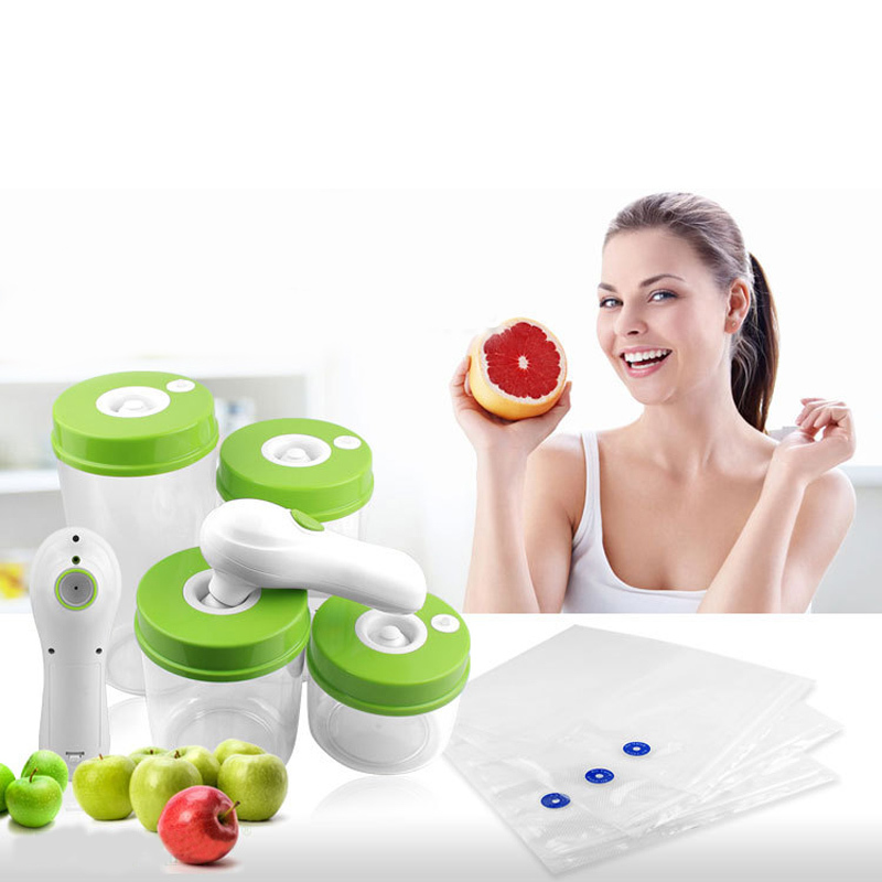 Hot Sale Free Shipping Household Food Vacuum Sealer  Hand Held Sealer for keeping Food Fresh<br><br>Aliexpress